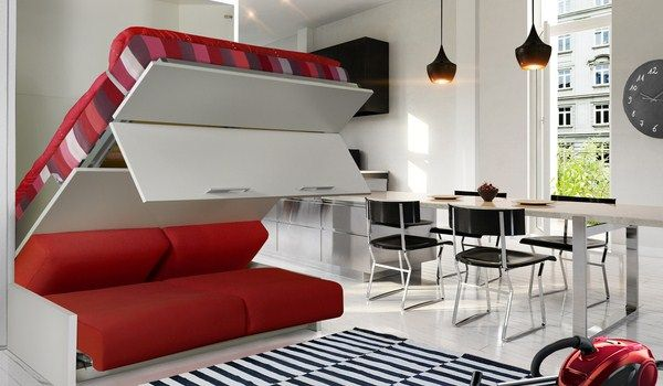 Lit escamotable avec canape integre ikea recherche google apartment ideas in 2018 - Lit escamotable ikea ...