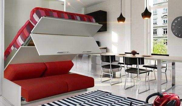 Lit Escamotable Avec Canape Integre Ikea Recherche Google Lit