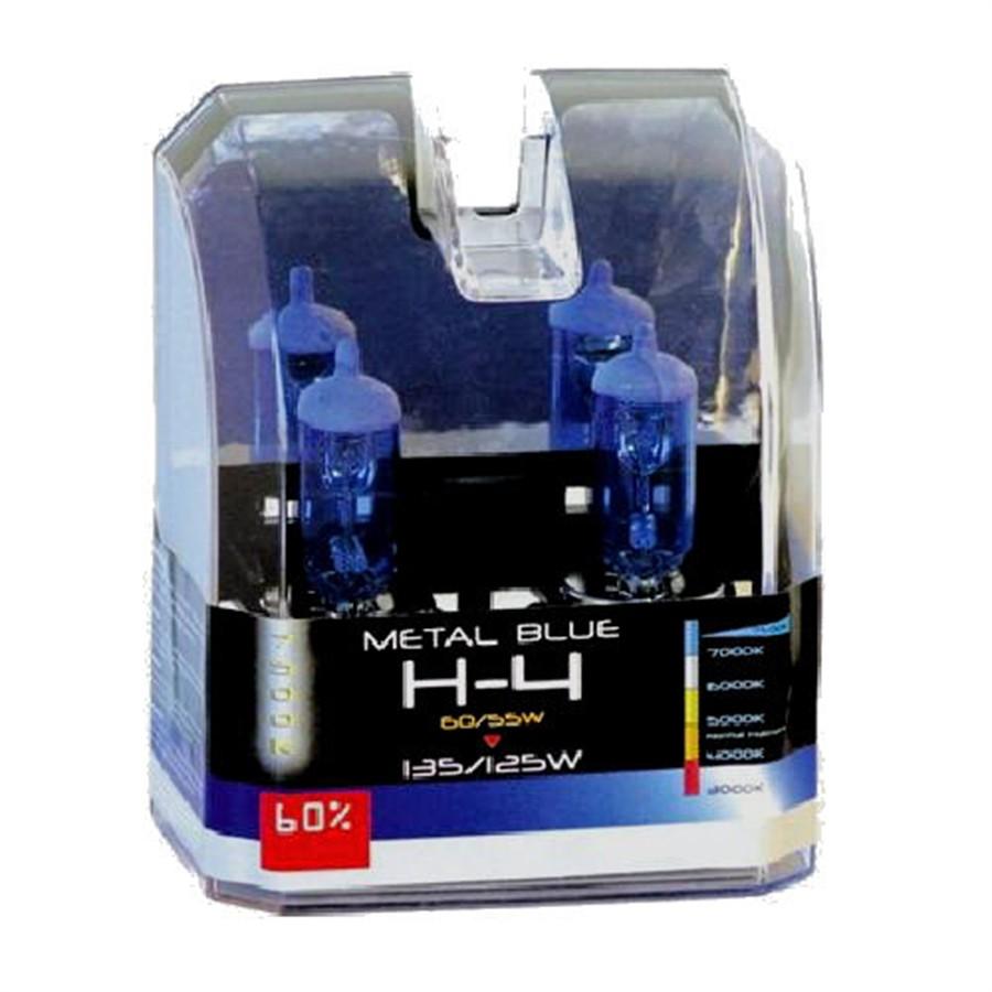 2 Bombillas Krawehl Metal Blue H4 En 2020 Luces De Emergencia Temperatura Del Color