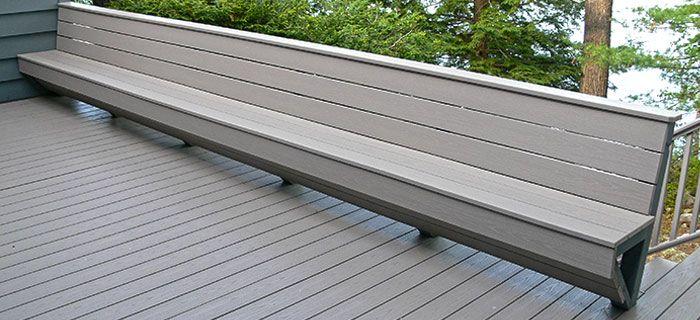 Hervorragend Holz-Kunststoff-Bänke sind eine gute Möglichkeit, Platz für Garten  KX21