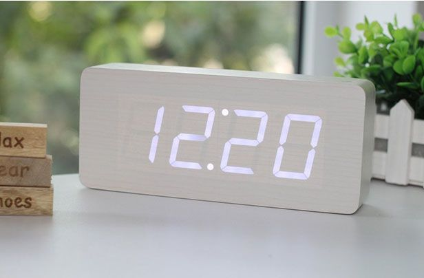 9 Chic Alarm Clocks That Won T Make You Want To Hit Snooze Alarm