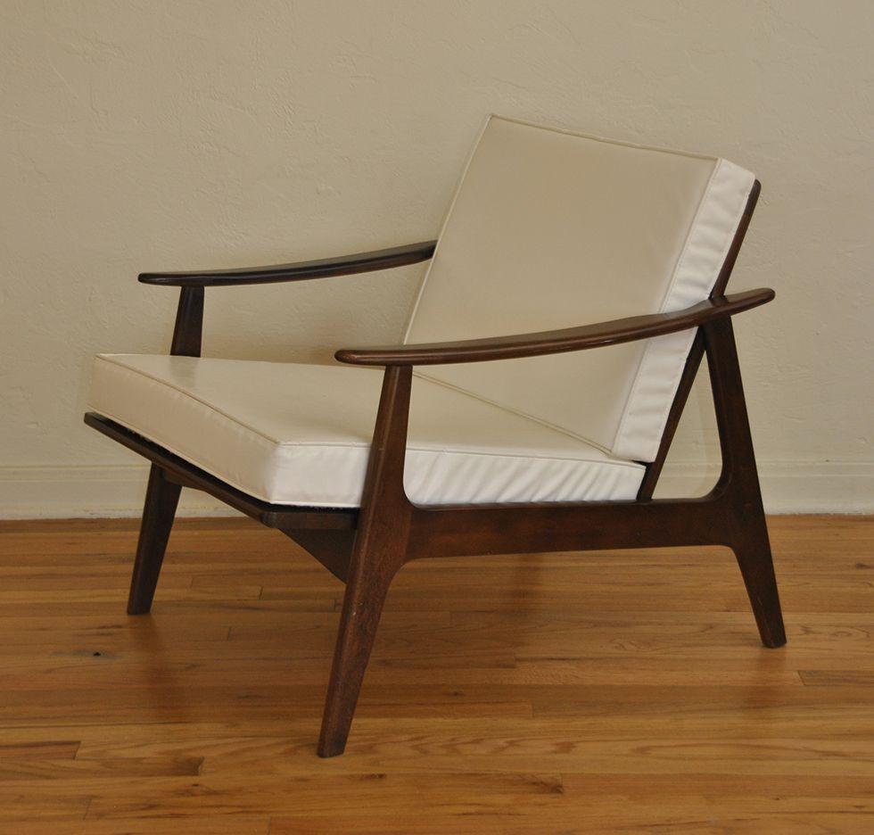 Danish Mid Century Lounge Chair Vintage designs Danish and Mid