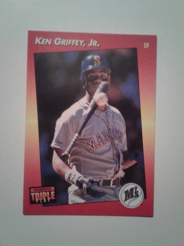 Details About 1992 Leaf 392 Donruss 152 Ken Griffey Jr Triple