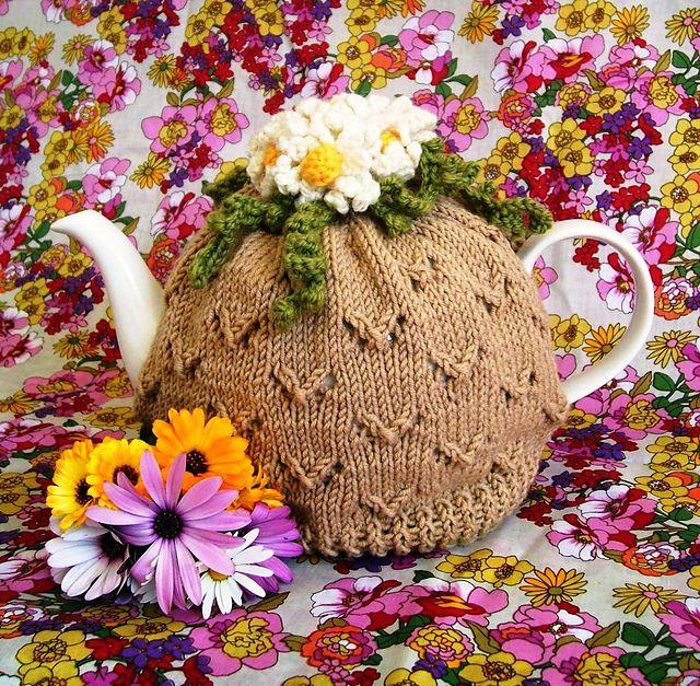 Camomile Lawn Tea Cosy by Jen Adams free knitting pattern on Ravelry ...