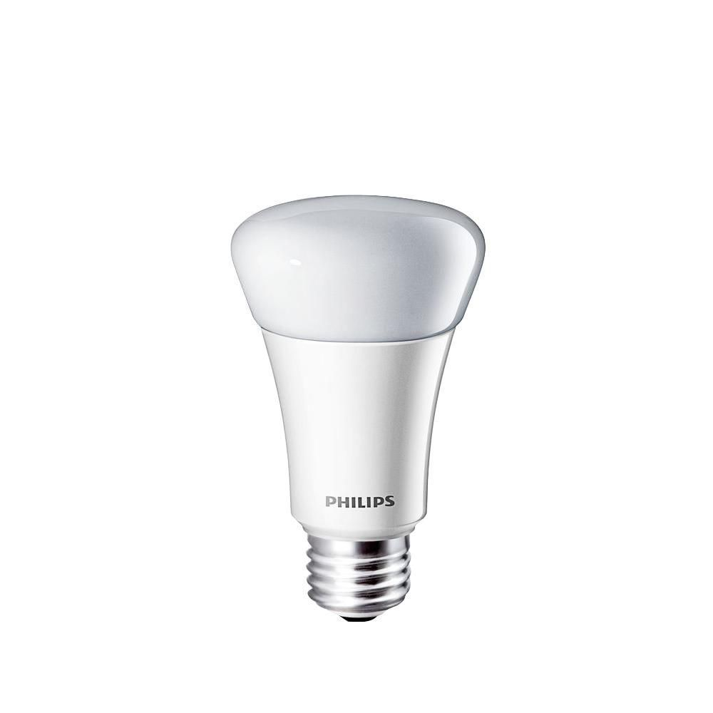 Philips 60W Equivalent Soft White (2700K) A19 Dimmable LED Light Bulb
