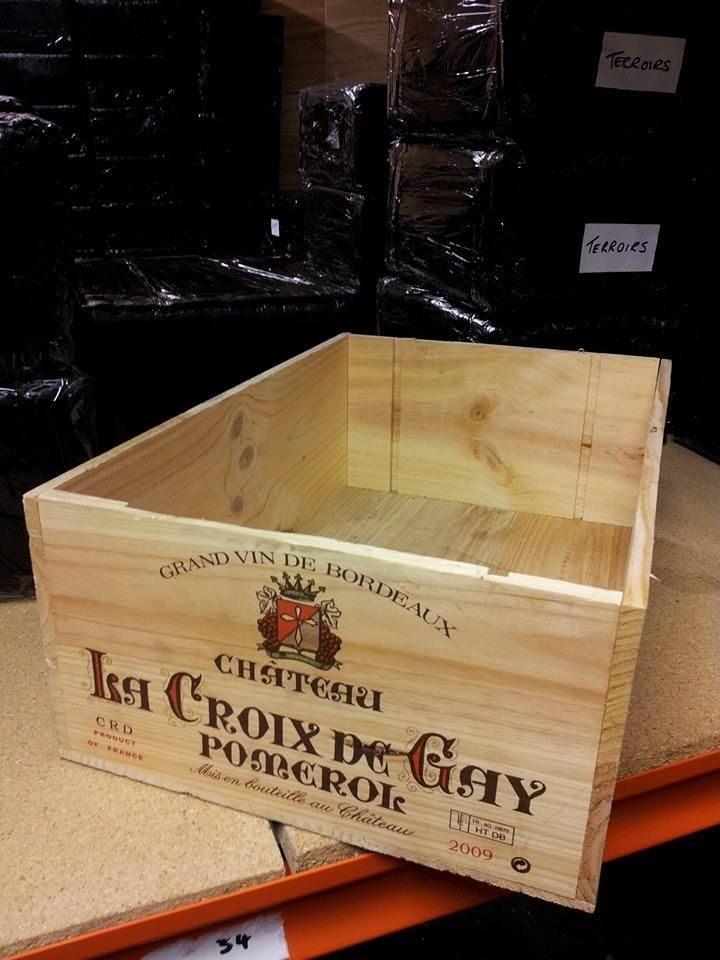 French 12 Bottle Large Wooden Wine Crate Box Planter Hamper Storage Wooden Wine Crates Wine Crate Wooden Wine Boxes