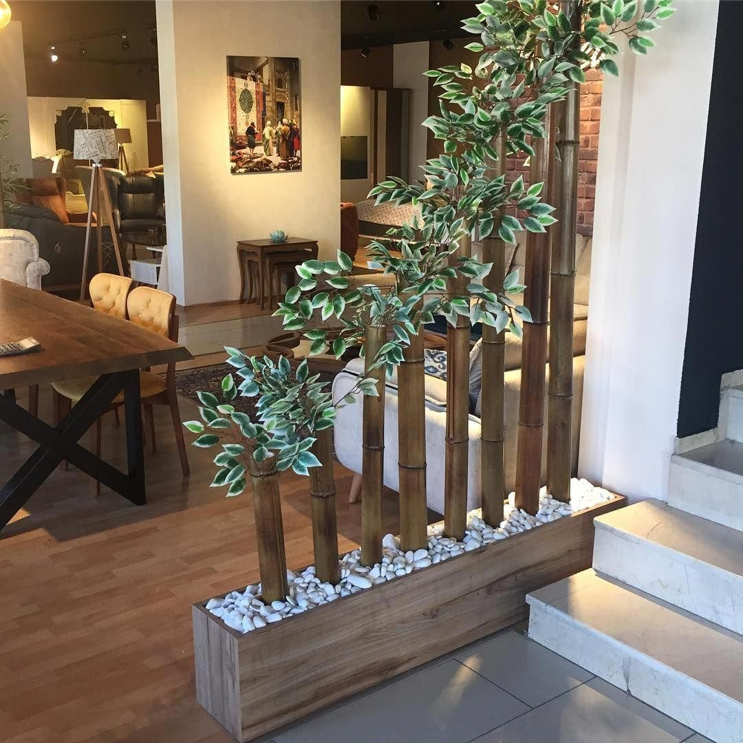 Bamboo Crafts 70 Decorating Ideas For Your Home Rusticinterior Bamboo Crafts Decorating Home Ideas Ru In 2020 Diy Garden Decor Bamboo Decor House Interior Decor