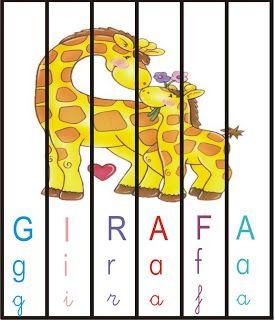 Quebra Cabeca Com Imagens E Palavras Versao Colorida Alfabetizacao Jogos Para Alfabetizar Atividades