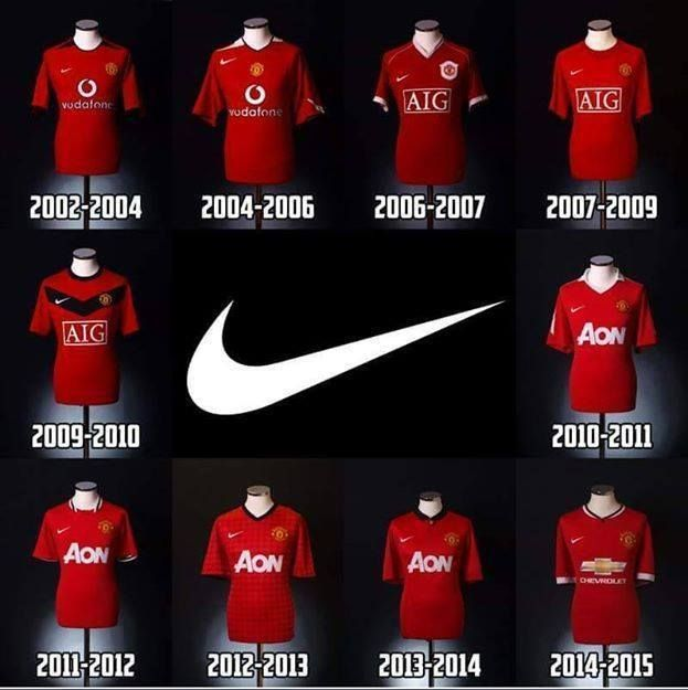 2acdc999222 Today is the last day of the Manchester United partnership with Nike. 15  years of partnership comes to an end Thank You Nike The Crowns with Nike    6 ...