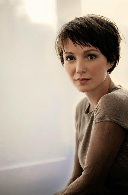 Julia Koschitz Frisur Pinterest Frisur Haar Und Kurze Haare