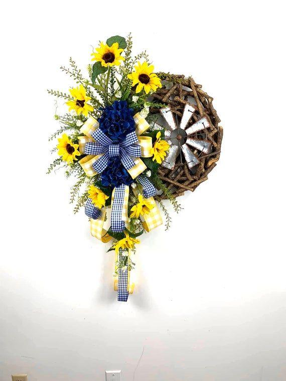 Photo of Sunflower wreath
