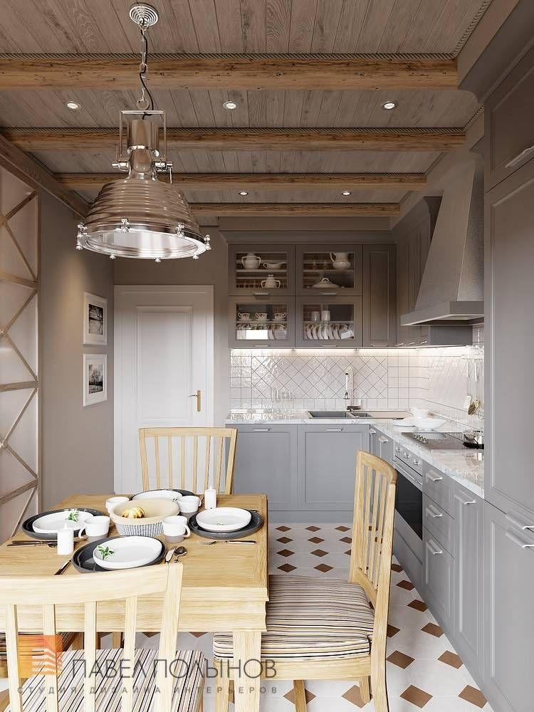 Фото: Дизайн интерьера кухни - Интерьер квартиры в стиле ...