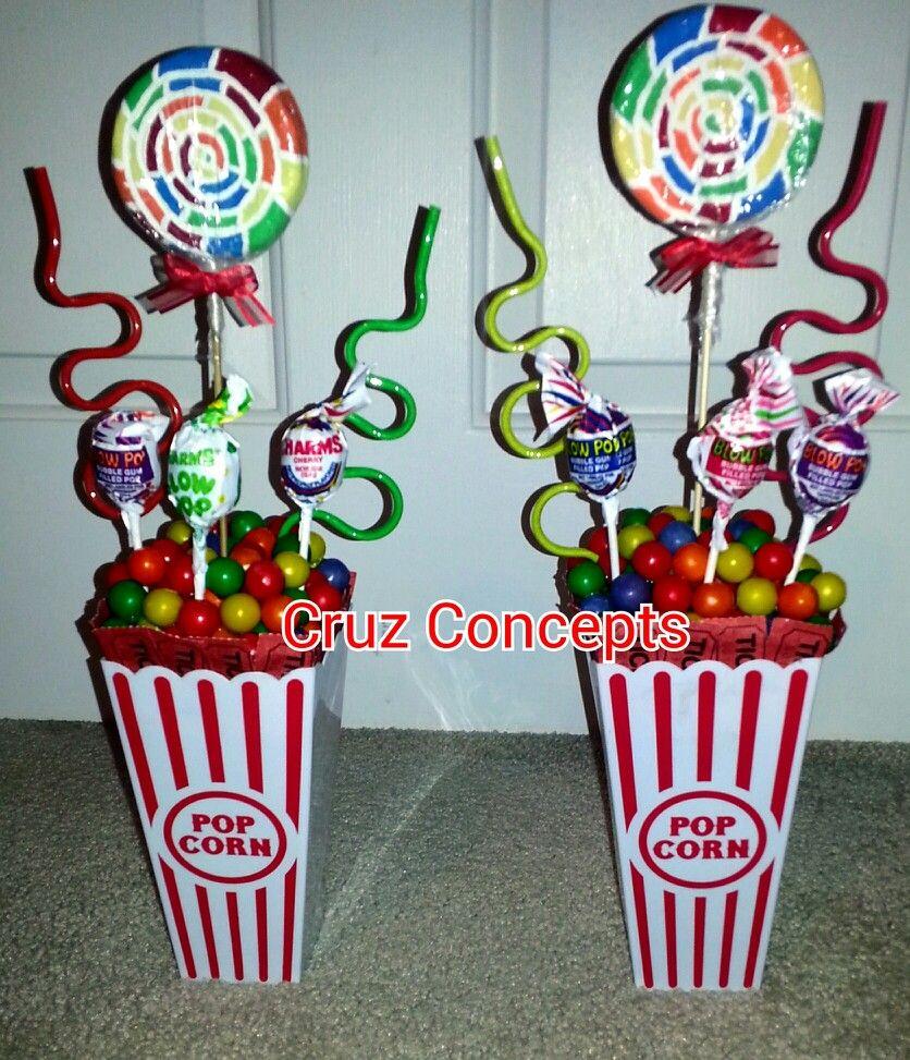 Carnival Theme Centerpiece Decor Party Table Carnival Birthday Party Theme Carnival Birthday Theme Circus Birthday Party