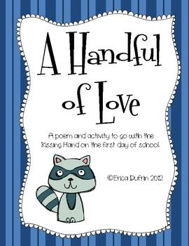 A Handful Of Love Kissing Hand Activity Prek Fun And Learning