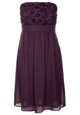 cocktailkleid / festliches kleid  aubergine purple  kleider günstige cocktailkleider und