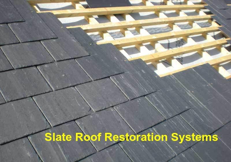 Image result for out Slate Roof Restoration