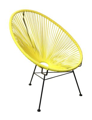 Scoop Chair, Plastic String Chair