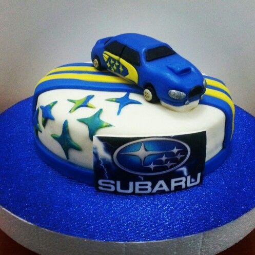 Subaru Cake Decorations