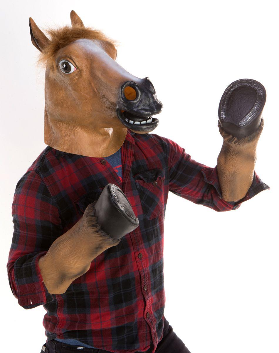 latex horse hooves - Spirits Halloween Alexandria La