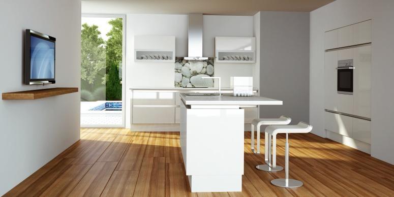 moderne Küche mit Insel moderne Küchen Pinterest Kitchen - moderne küchen mit kochinsel
