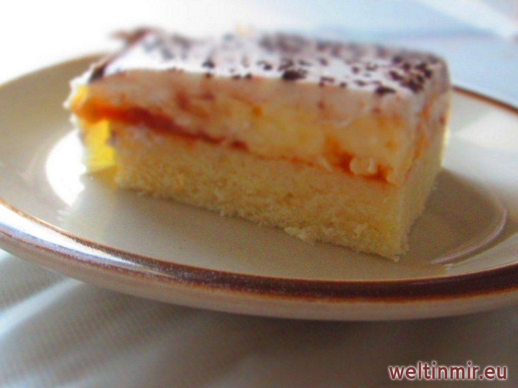 Schneller, einfacher und leichter Kuchen für die Gäste.