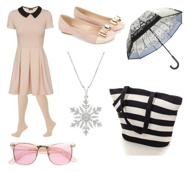 """Rainy beach party"" by macey-medlin ❤ liked on Polyvore featuring ZAC Zac Posen and Monsoon"