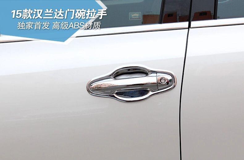 Dver Kryshka Ruchka I Ruchka Chashi Avto Dvernye Ruchki Planki Dlya Toyota Highlander 2015 16 Sht Tipa Besplatnaya Dos Toyota Highlander Door Handles Handled Bowls