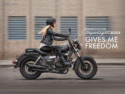 Vasita Motosiklet Kuba Superlight 200 Motosikletler
