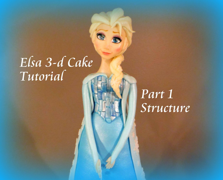 Frozen cake design images  Elsa  d Cake Part   Cake Decorating Ideas  Pinterest  Elsa