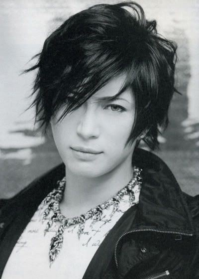 Gackt Side Bangs Male HairstylesFashion HairstylesJapanese