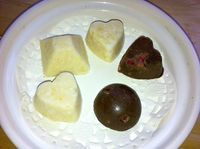 Veg an' Bio: Fudges coco-citron ou cacao- framboise crus vegan