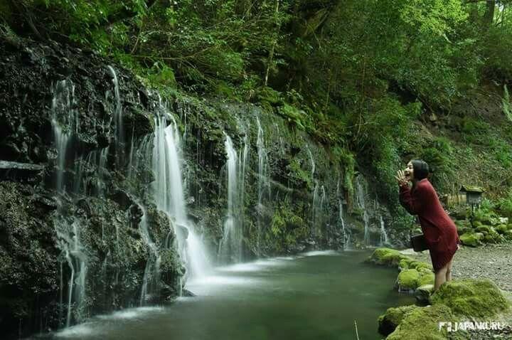 Indeed, spiritual (Power) spot in Hakone ♡ Chisuji Falls ...