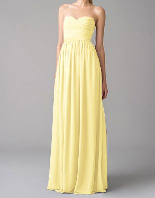 a587e11dcf Chloe bridesmaid dresses | Style | Bridesmaid dresses, Pale yellow ...