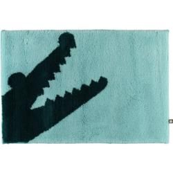 Photo of Tappeto da bagno Rhomtuft Croc mint / Pacific – 1210 – 70×130 cm Rhomtuft