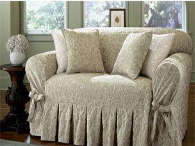 Semplice tutorial per creare un copridivano in stile - Copridivano per divano in pelle ...