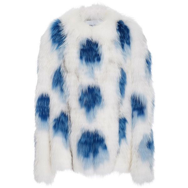 Prabal Gurung     Silver Fox Fur Jacket (300,670 MXN) ❤ liked on Polyvore featuring outerwear, jackets, coats, fur, prabal gurung, white, fox fur jacket, silver fox fur jacket, white jacket and silver jacket