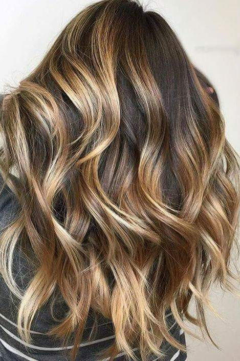 35 Brown Hairstyles With Blonde Highlights That Are Too Pretty To Pass Up Brown Hair With Blonde Highlights Haircut For Thick Hair Blonde Highlights