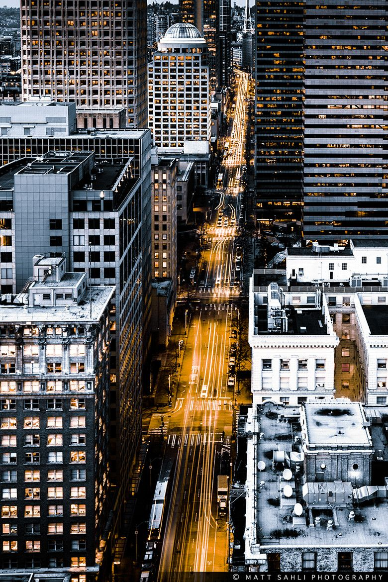 2nd Ave, Seattle, Washington, USA