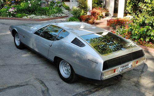 Jaguar Pirana Coupe by Bertone | Jaguar car, Cars