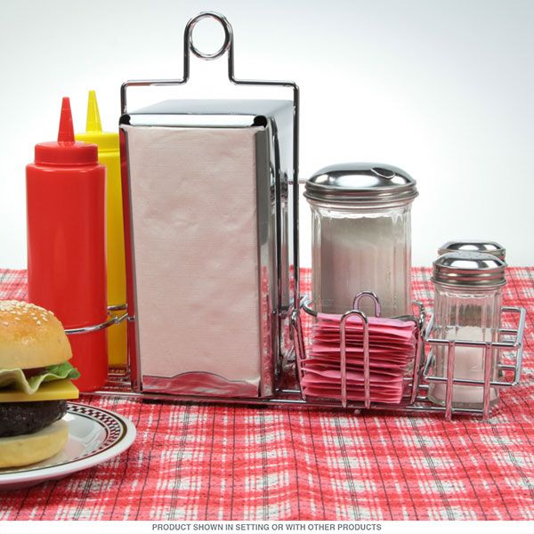 Diner Tabletop Dispenser Accessories Set | Diners, Retro and Kitchenware