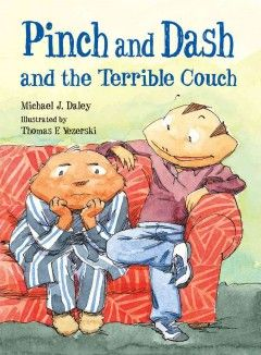 When his aunt's couch is delivered to Pinch, he and his friend Dash try to find a way to fit it into Pinch's cozy home.