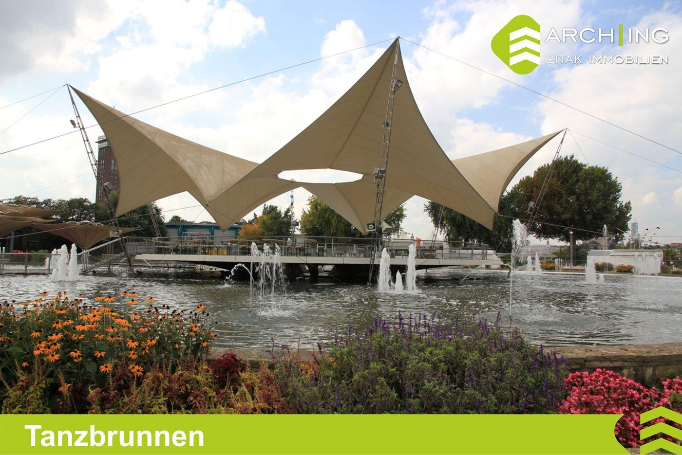 Koln Deutz Tanzbrunnen Innenstadt Stadt Stadt Am Rhein