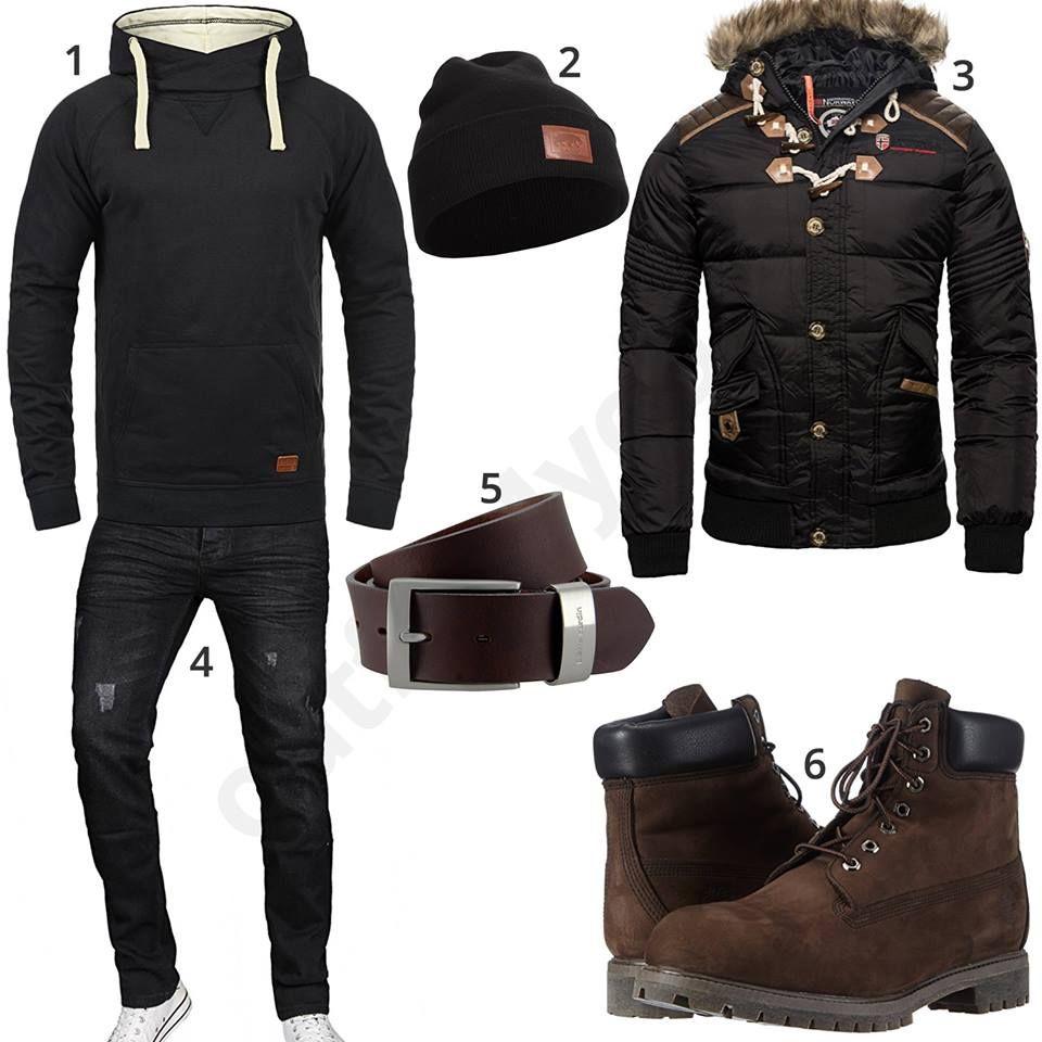 Hipster winterjacke herren