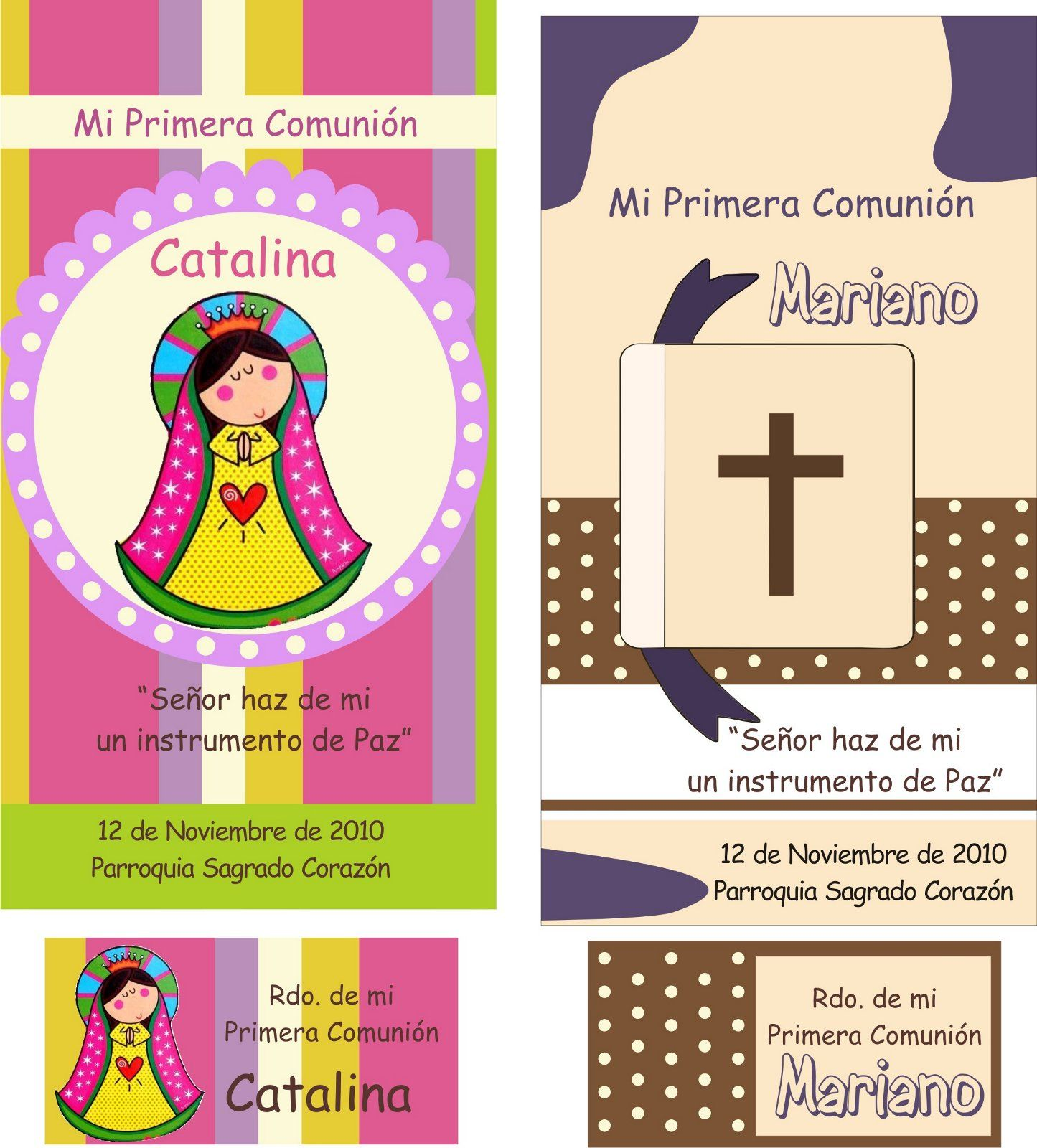 Ideas para primera comunion comunion tarjetas tarjeta - Como hacer tarjetas para comunion ...