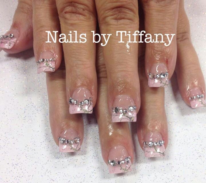 pink camo nails vow renewal ideas