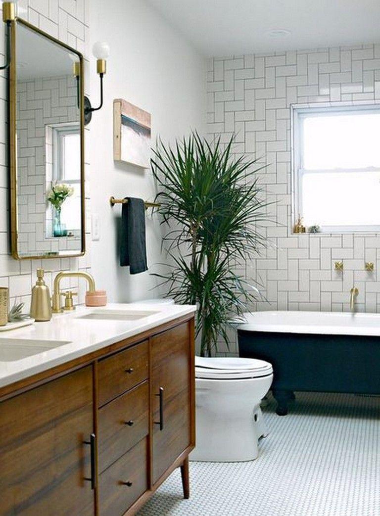55 Exciting Bathroom Wall Decor Ideas Accessible Bathroom Design Mid Century Modern Bathroom Mid Century Bathroom