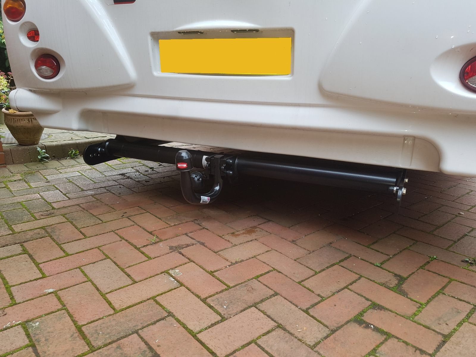 Bailey Approach Motorhome Towbar With Dedicated Electrics Installed Tow Bar At The Customers Address East Midlands
