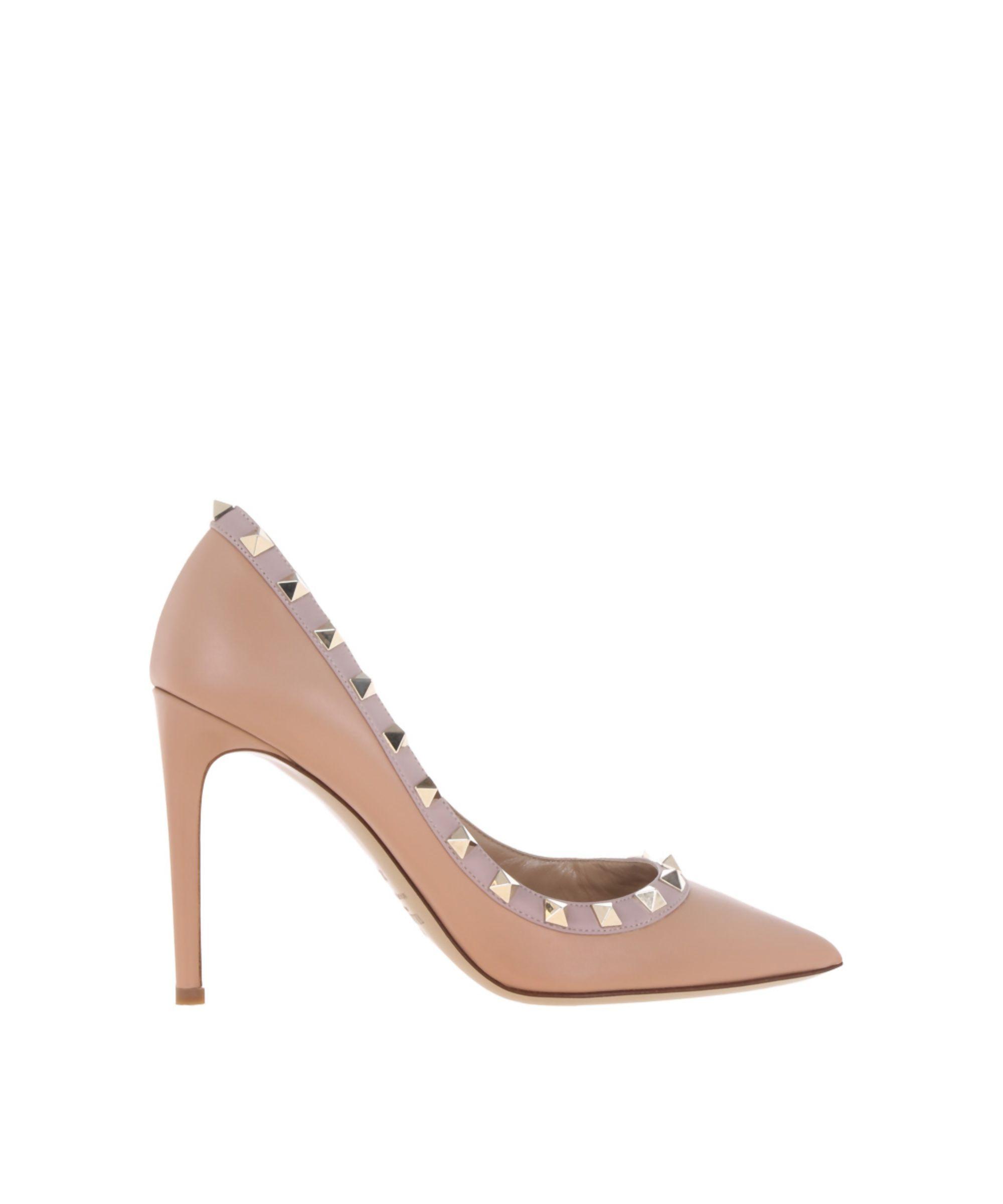 VALENTINO | Valentino Garavani Women's Pink Leather Pumps #Shoes #Pumps &  High Heels #