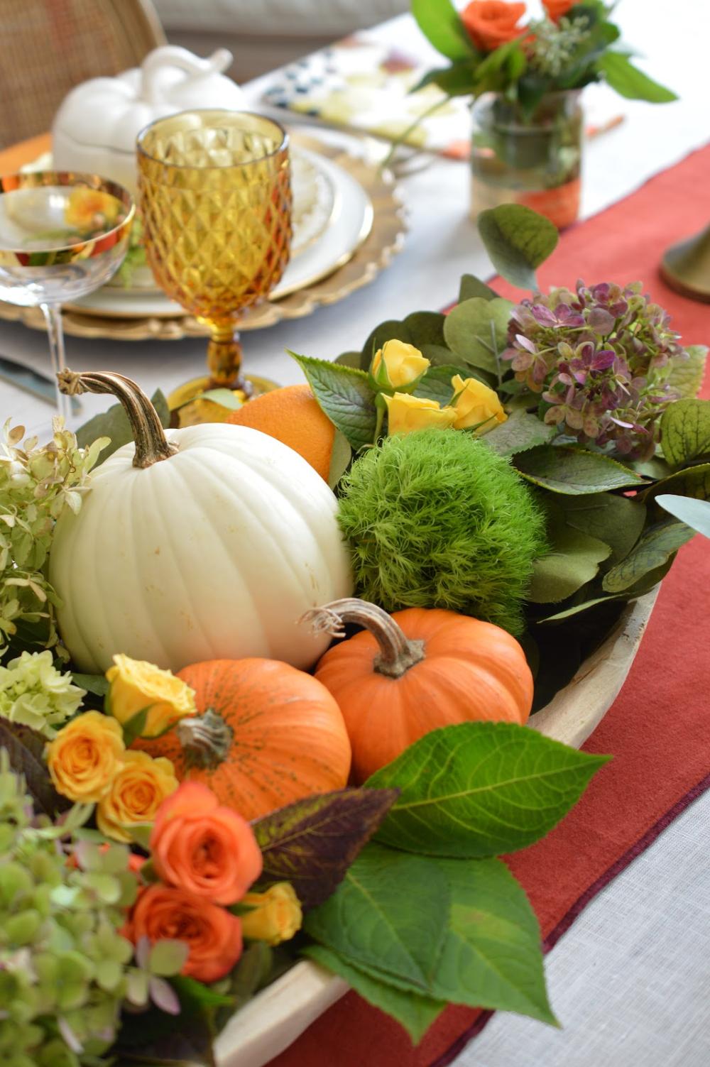 Elegant Thanksgiving Table | Elegant thanksgiving table ...