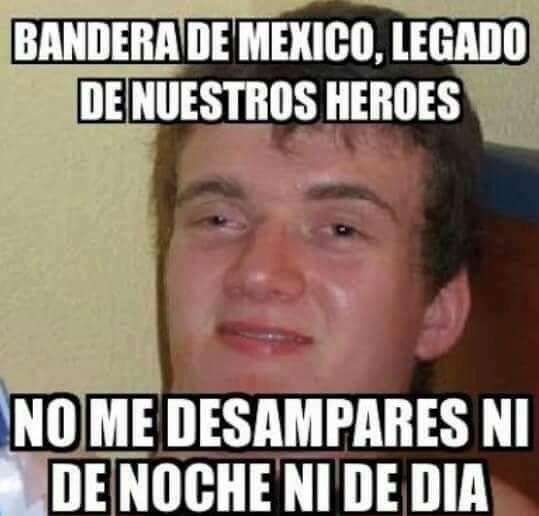 Meme Drogado Juramento A La Bandera Memes Para Reirse Memes